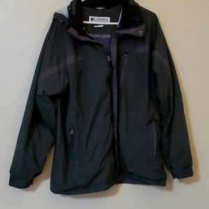 Mens Columbia jacket size L